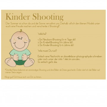 Kinder Shooting.